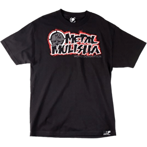 Metal Mulisha Fallen T-Shirt - Black/Red