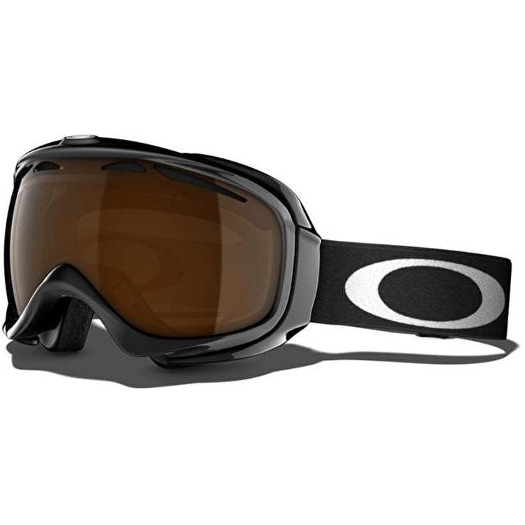 Oakley Elevate Snow Goggles - Jet Black / Black Iridium