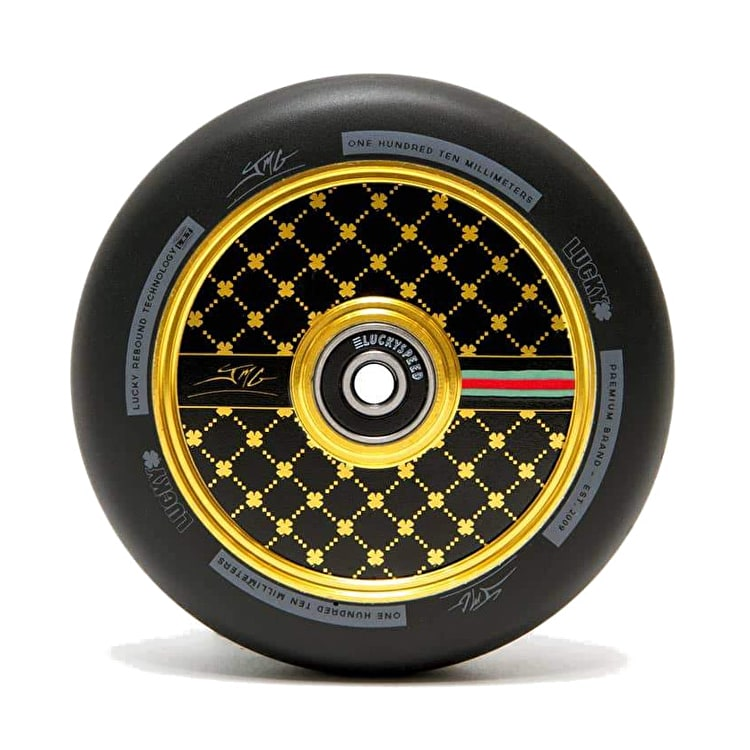 Lucky Jon Marco 2.0 Signature Pro Scooter Wheel 110mm - Gold | Lucky ...