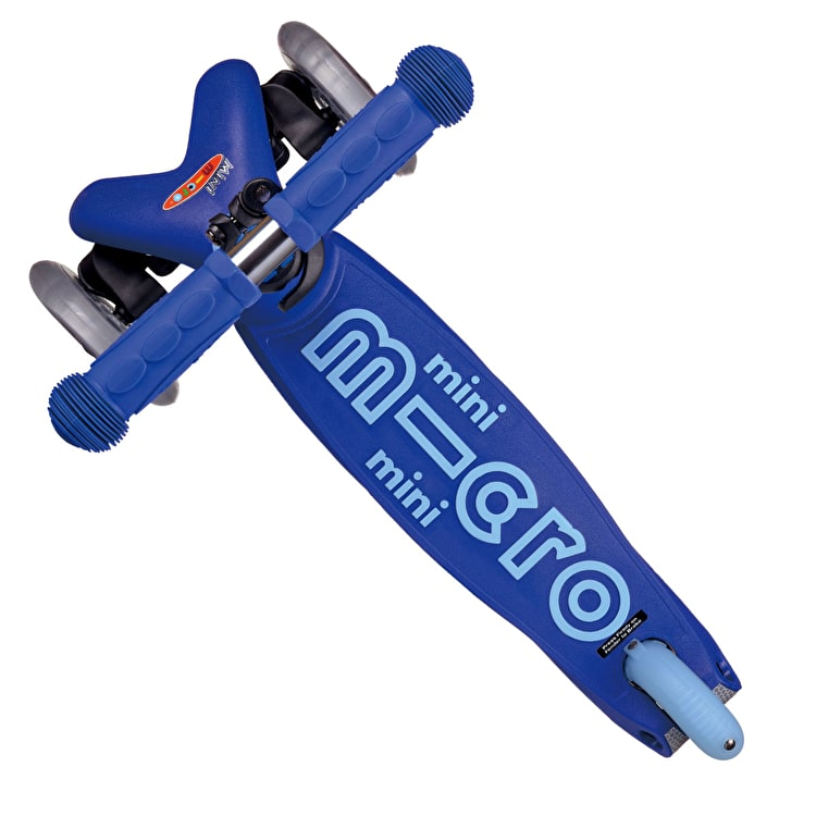 Mini Micro 3in1 Deluxe Complete Scooter - Blue