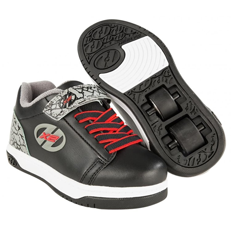 Heelys Dual Up - Black/Grey/Elephant