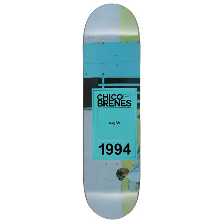 Chocolate Inaugural Brenes Skateboard Deck - 8.375""