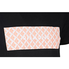Diamond Tile T-Shirt - Black