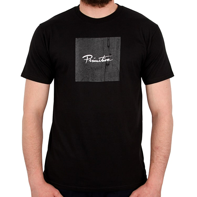 Primitive Nuevo Box Veneer Lightweight T shirt - Black