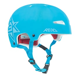 REKD Elite Semi-Transparent Helmet - Blue