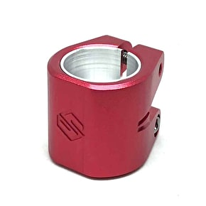 Striker Double Collar Clamp - Red