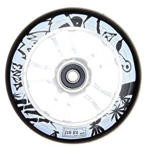 AO Enzo 110mm Wheel Incl Bearings - Silver