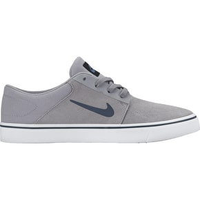 Nike SB Portmore Shoes - Stealth/Squadron Blue