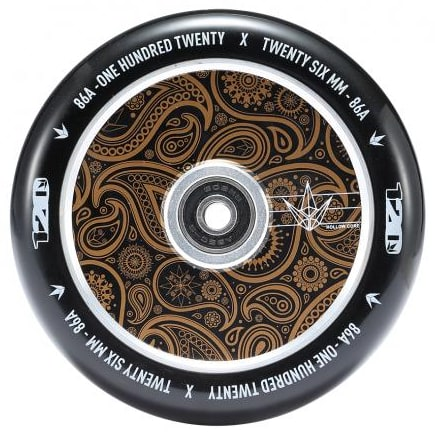 Image of Blunt Envy 120mm Hollow Scooter Wheel - Bandana Gold