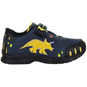 Dinosoles Dinofit Kids Shoes - Triceratops Blue