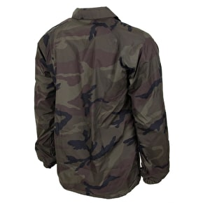 Primitive Thunderbird Coaches Jacket - Woodland Camo