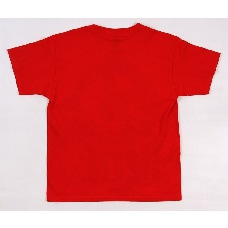SkateHut Scooter Ride Kids T-Shirt - Red