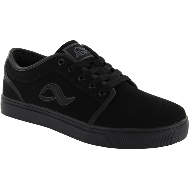 Adio Indy Skate Shoes - Black/Charcoal
