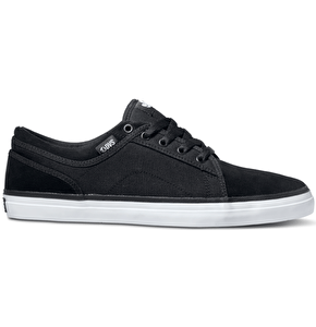 DVS Aversa Shoes - Black Suede/Canvas