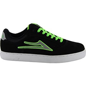 Lakai Mike Mo - Black/Lime Suede