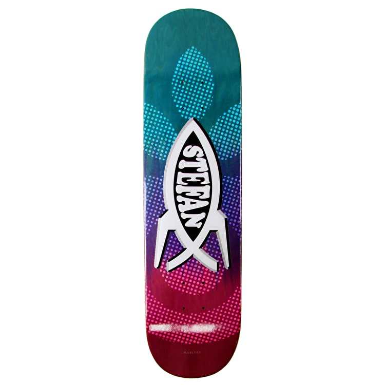 Habitat Science Fish Skateboard Deck - Janoski - 8.125""
