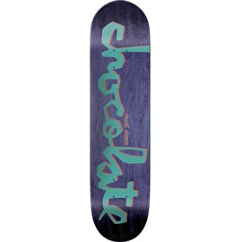 Chocolate Original Chunk Skateboard Deck - Alvarez 8