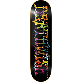 Deathwish Skateboard Deck - Blacklight Team 8.5