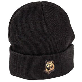 Grizzly Refuge Beanie - Black