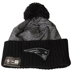 New Era NFL Grey Collection Beanie - New England Patriots