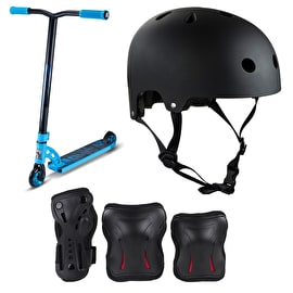 MGP VX7 Pro Sky Blue Stunt Scooter Bundle