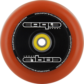 Eagle Hollow Tech Signature Core Orange PU Wheel - 100mm