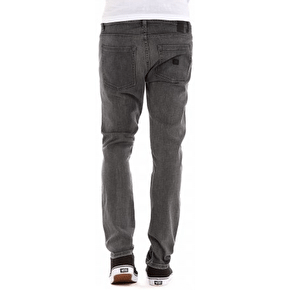 Kr3w K Skinny Denim Jeans - Marbled Grey