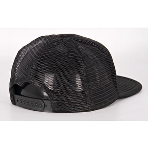 Hype Crest Trucker Cap - Black/White