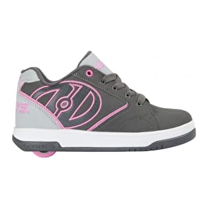 Heelys Propel 2.0 - Charcoal/Grey/Pink