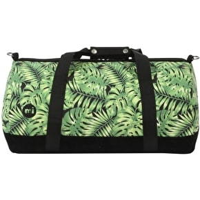 Mi-Pac Tropical Leaf Duffle Bag - Black