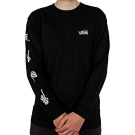 Vans Boneyard Long Sleeve T-Shirt - Black