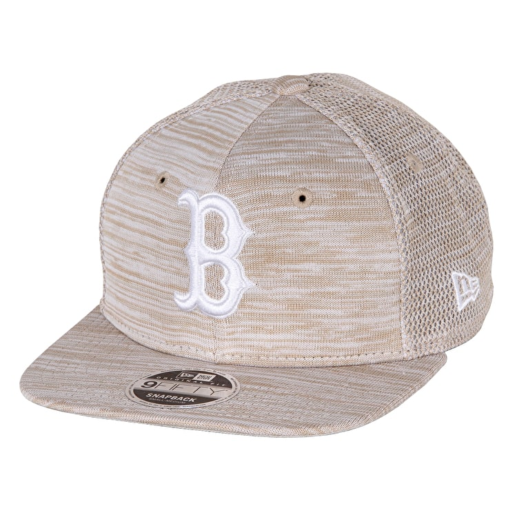 New Era Red Sox Engineered Fit 9FIFTY Cap - Stone/Optic White