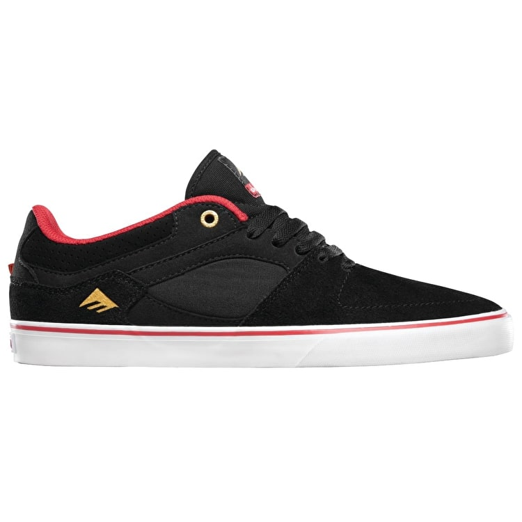 Emerica x Chocolate HSU Low Shoes - Black/Red/White