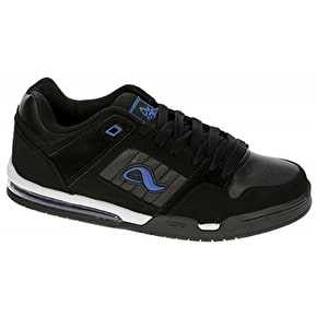 Adio V4 Skate Shoes - Black / Royal