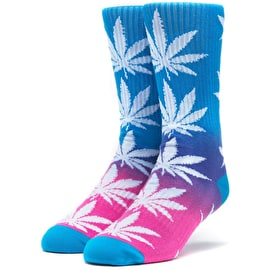 Huf Plantlife Gradient Wash Socks - Blue