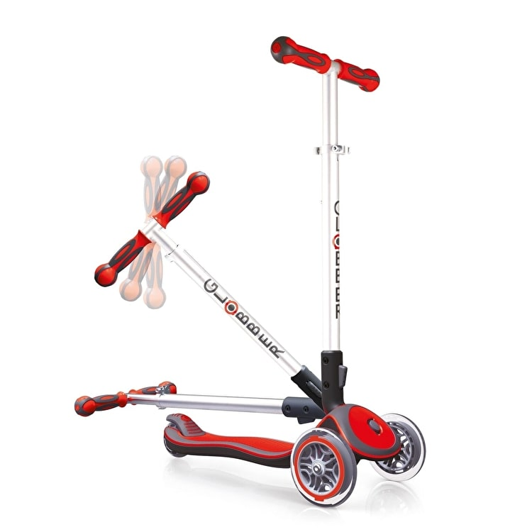 Globber My Free Elite Complete Scooter - Red