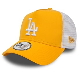 New Era Los Angeles Dodgers MLB 9FORTY League Womens Essential Trucker Cap - Gold/Optic White