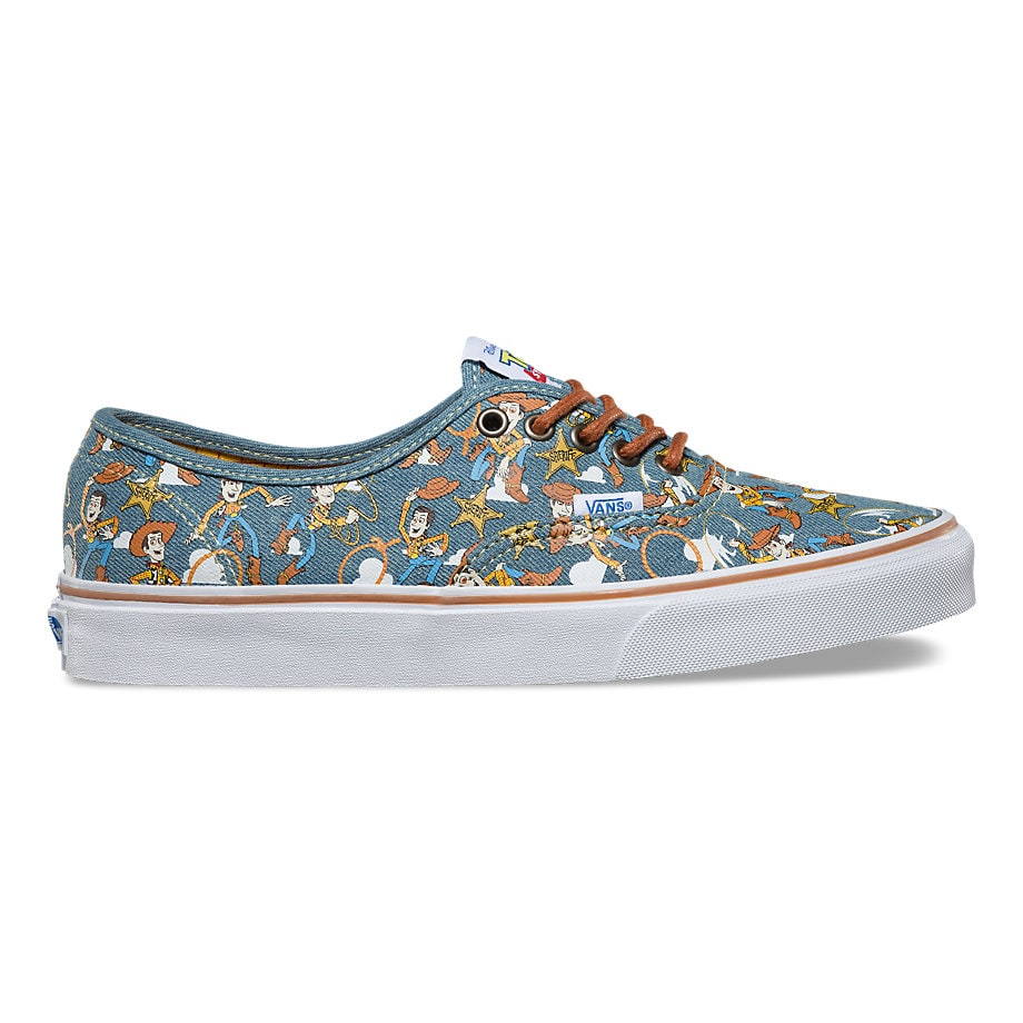 Vans x Toy Story Authentic Kids Shoes  WoodyTrue White