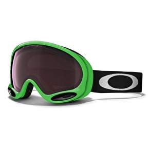 Oakley A-Frame 2.0 80 Green Snow Goggles - Prizm Black Iridium