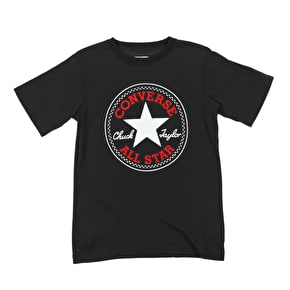 Converse Chuck Patch Kids T-Shirt - Black/Red