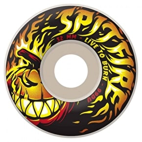 Spitfire Skateboard Wheels - Bighead Punkin White 52mm