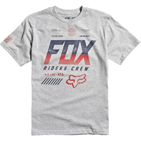 Fox Escaped Kids T-Shirt - Heather Grey
