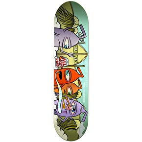 Toy Machine Sect Heaven Leabres Skateboard Deck 8.25