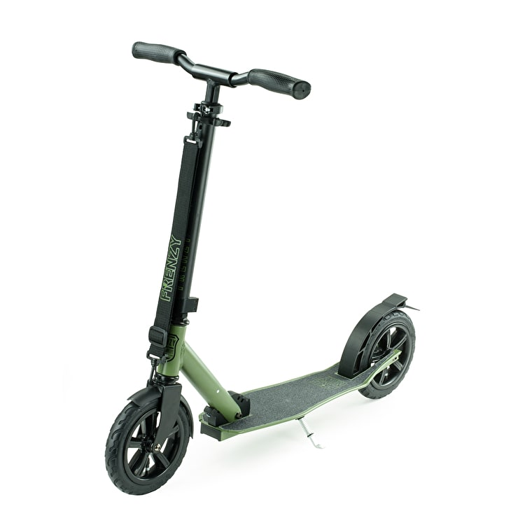 Frenzy 205mm Pneumatic Folding Commuter Scooter - Military