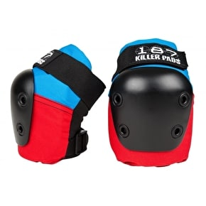 187 Six Pack Junior Pad Set - Red/Blue