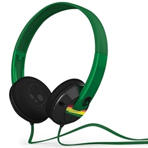 Skull Candy Uprock Headphones - Black / Rasta