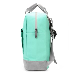 Mi-Pac Canvas Tote Backpack - Mint