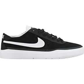 Nike SB Bruin Hyperfeel Shoes - Black/White