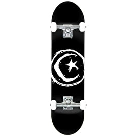 Foundation Star & Moon Complete Skateboard - Black 8.0