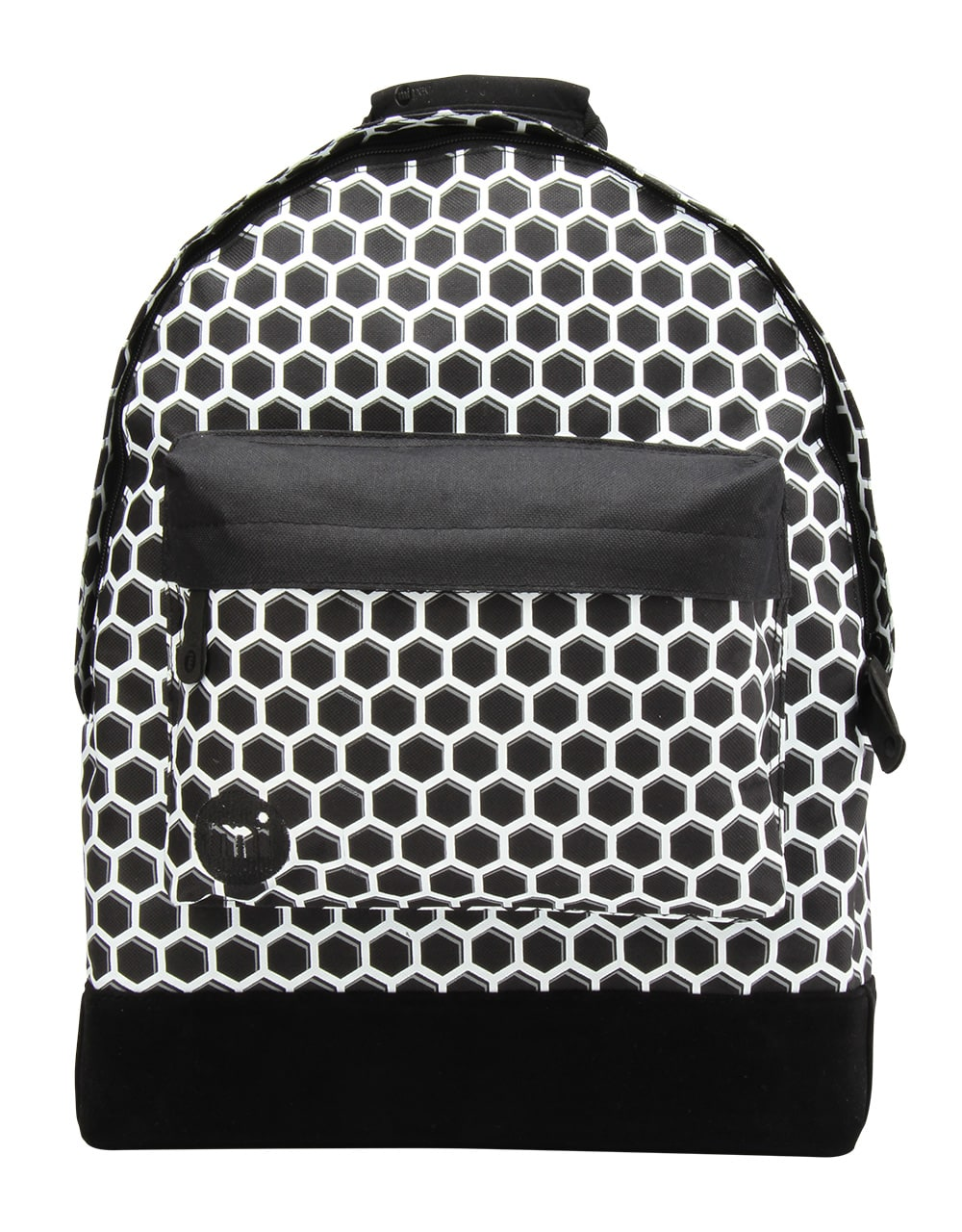 MiPac Honeycomb Backpack  BlackWhite
